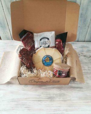 cesta regalo gourmet postparto