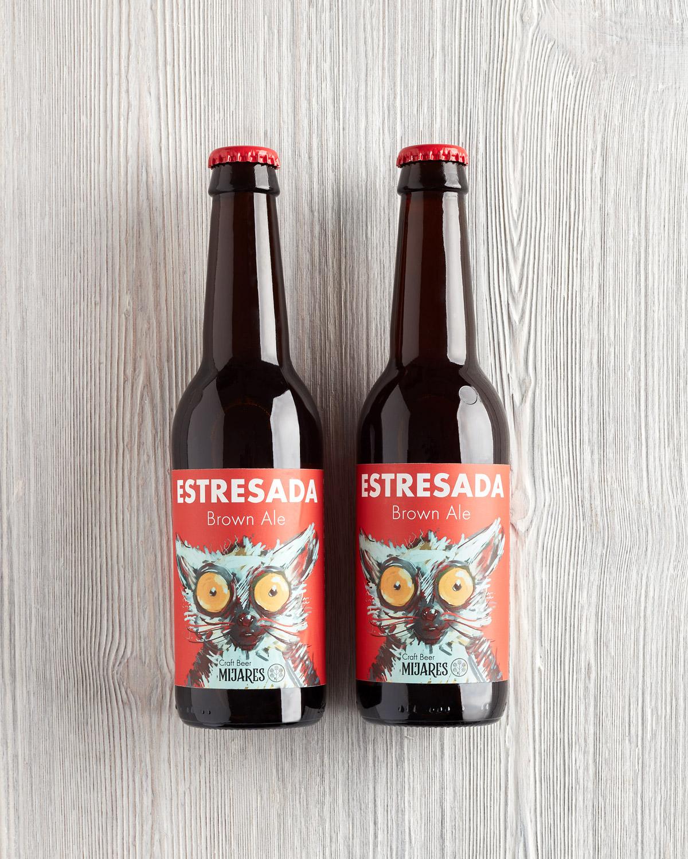 cerveza artesana española brown ale