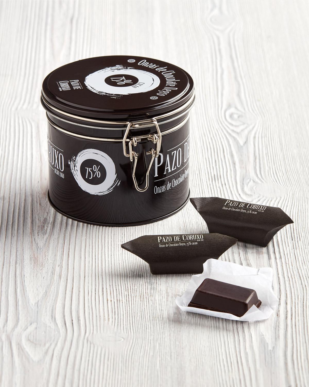 CHOCOLATE NEGRO 75 EN ONZAS